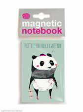 Brainbox Candy Panda funny magnetic notebook cheap Christmas Birthday gift