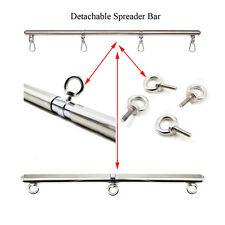 Detachable Bondage Spreader Bar For Hand Ankle Cuffs Restraint Pipe BDSM Sex Toy