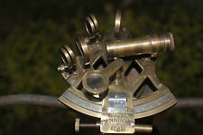 ANTIQUE MARINE Working Sextant Ship Equipment COLLECTIBLE SOLID BRASS GIFT ITEM.