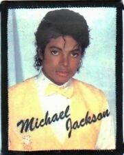 MICHAEL JACKSON  yellow vest  SEW ON  PHOTO  PATCH