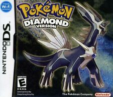 Nintendo DS POKEMON DIAMOND VERSION jeu travaillant avec DS, DS Lite, DSi, 3DS