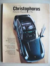 Porsche Christophorus 259 2/96 März 96 911 993 Targa & Übersicht Sommerreifen
