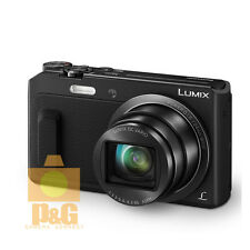 New Boxed Panasonic Lumix DMC ZS45 / TZ57 Wifi Camera black