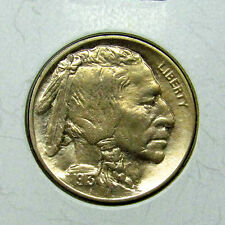 1913 P Buffalo Nickel Type 2 Unc - Gem BU MS Strong - High Grade Coin