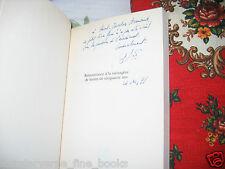 """""""Remontrance à la ménagère de moins de 50 ans"""" Bernard Pivot avec ENVOI 1998"""