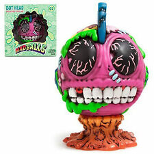 Kidrobot Mad Balls Bot Head Medium Vinyl Figure NEW Collectibles Art Urban