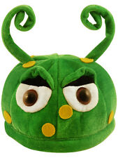 Green Ant Alien Hat Insect Critter Animal Martian Space Fancy Dress Accessory