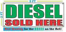 DIESEL SOLD HERE Banner Sign NEW Larger Size Best Price for The $$$