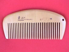 "3.75"" STURDY MEDIUM TOOTHED CHERRY WOOD COMB - FOR ALL HAIR! COMBINE SHIPPING!"