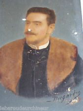 Ancienne portrait signé L. Dugardin . Old  portrait signed L. Dugardin