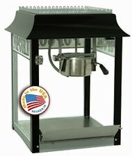 Commercial Theater Popcorn Machine Popper Maker Paragon 1911-4 oz Black & Chrome