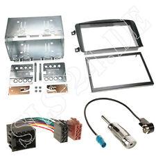 Autoradio Doppel-DIN Einbaurahmen Blende Adapterkabel Einbauset MERCEDES Viano