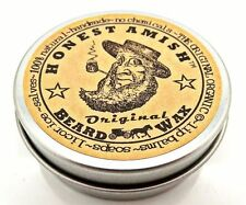 Honest Amish Original Beard Wax -All Natural and Organic Hand Crafted in the USA