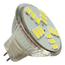 2 x MR11 15 SMD LED 5630 4W 12V DC 380LM WHITE BULBS ~30W
