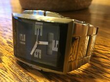 "BIG!  KENNETH COLE/NEW YORK ""Reaction"" MULTI-FUNCTION MEN'S WATCH w/NEW BATTERY!"