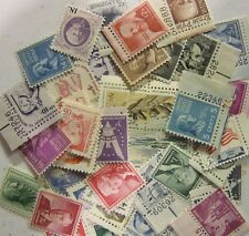 Antique US Postage Stamp Lots, 50 MNH all different 1 upto 19 CENT small type