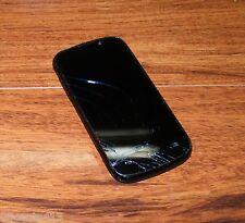 ZTE Warp Sequent - 4GB - Black (Boost Mobile) CDMA Smartphone w/ Power Supply
