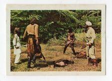 figurina - SANDOKAN ALLA RISCOSSA BOY 1976 - numero 190