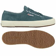 Sneakers SUPERGA invernali -50% num.41-42 -NEW-  scarpe in pelle leather shoes