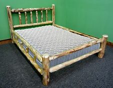 Rustic Log Bed - Queen $479 - Double Log Side Rail - Free Shipping