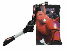 New Disney Movie Big Hero 6 KeyChain Lanyard Fastpass ID Ticket Holder -BK-