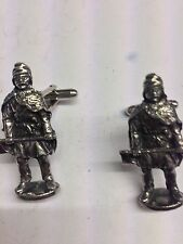 Viking Warriors 4 WE-VP44 Fine English Pewter Cufflinks