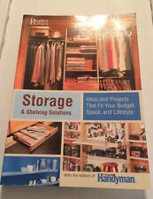 Storage and Shelving Solutions : Ideas and Projects That Fit Your Budget (2006)