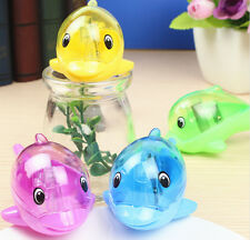 New Factory Direct Sell Dolphins Double Holes Manual Pencil Sharpener