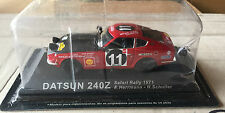 "DIE CAST "" DATSUN 240Z SAFARI RALLY - 1971 "" RALLY DEA SCALA 1/43"