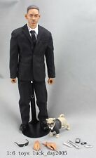 Dragon MIB3 Men In Black 3 Agent J Will Smith w/ Frank Dog 1/6 Figure (NO BOX)