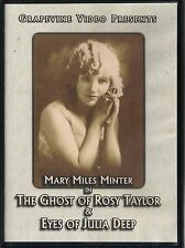 THE GHOST OF ROSY TAYLOR (1918) & EYES OF JULIA DEEP (1918)~2013 MINT DVD~SILENT