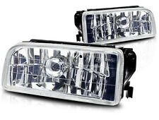 1992-1998 BMW E36 3 SERIES OEM REPLACEMENT FOG LIGHTS LAMPS CRYSTAL CLEAR LENS