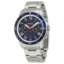 Fossil Grant Sport Chronograph Blue Dial MensWatch FS5238