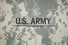 VELCRO® US ARMY Name Tape / Tag ACU Pattern Military Patch Used Authentic