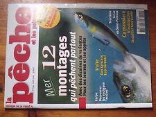 $$ Revue peche et les poissons N°699 montages mer  Saint-Pardoux  cuiller  carpe