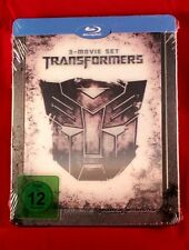 Transformers Trilogy limited embossed Blu Ray Steelbook, (with lenticular card)