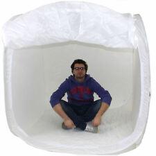 DynaSun PB1 120cm Cube Boite Lumière Softbox Diffuseur Tente Cabine avec 4x Fond
