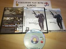 PC 007 QUANTUM OF SOLACE JAMES BOND COMPLETO PAL ESPAÑA