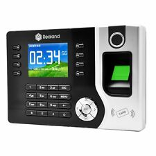 New Biometric Fingerprint Attendance Time Clock+ID Card Reader+TCP/IP+USB USA