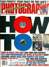 1996 Popular Photography Magazine: How To Issue/Bad Prints Lab's Fault