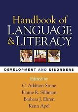 Handbook of Language and Literacy, First Edition: Development and Disorders (Ch