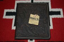 Ralph Lauren RRL Made in Mexico Engraved Leather Ipad Case Cover
