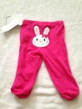 NWT Koala Kids baby girl 6-9 months pants pink bunny Happy Easter