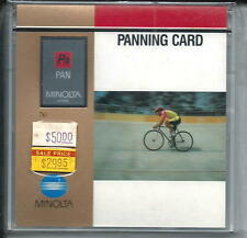 Minolta Panning Card  for 7xi &  9xi  Cameras New Unopened