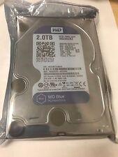 """Western Digital Blue WD20EZRZ 2TB 5400RPM 64MB SATA 6.0 GB/s 3.5"""" Hard DRIVE"""
