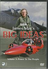 JAMES MAY'S BIG IDEAS DVD VOLUME 3 - POWER TO THE PEOPLE
