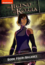 THE LEGEND OF KORRA BOOK FOUR BALANCE New Sealed 2 DVD Set Season 4 Nickelodeon