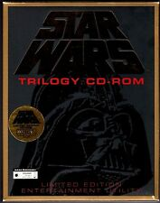 Star Wars Trilogy CD-Rom Limited Edition Mint Condition! W/ Certificate