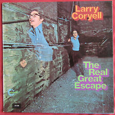LARY CORYELL    LP ORIG  fr  THE REAL GREAT ESCAPE  avec dedicace
