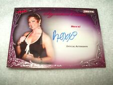 TNA Wrestling Autograph Card Knockouts Signature Curves Roxxi KA9